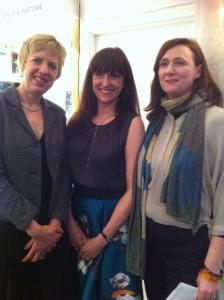 With Ciara and Ivana